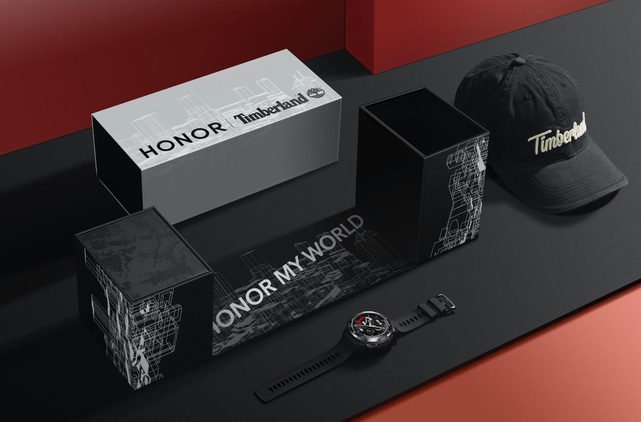 梦幻联动!荣耀跨界Timberland,推出荣耀手表GS Pro定制版礼盒