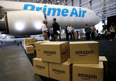 报告:亚马逊可为72%美国人口提供一天内快递服务